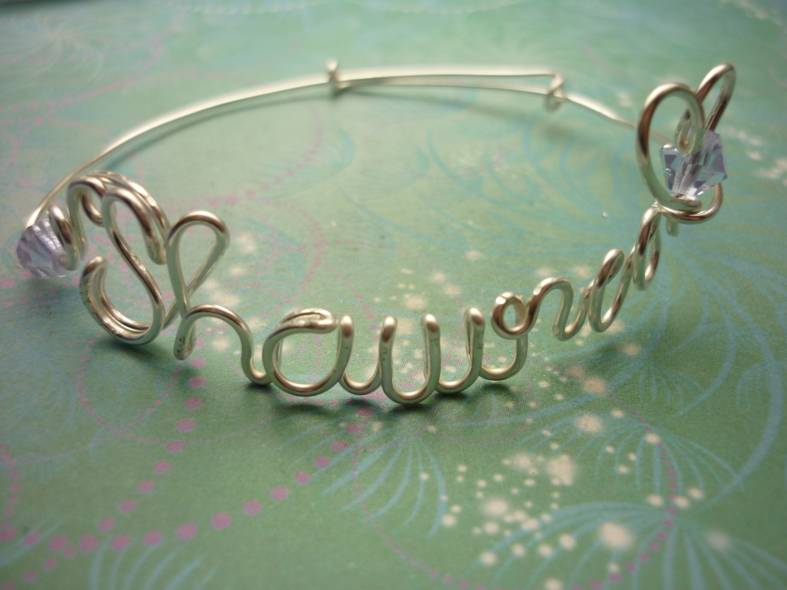 Personalised Name Bracelet Silver Or Gold Up To 8