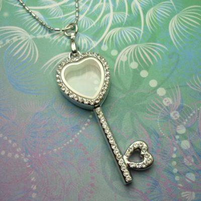cz-heart-key-locket-necklace