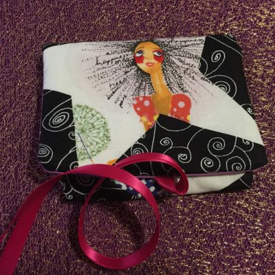 Tarot Card and Oracle Card Wrap Clutch Bag - Padded - Keepsafe - Goddess