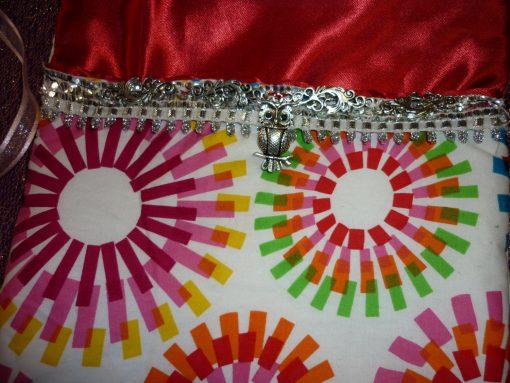 Tarot Card and Oracle Card Wrap Clutch Bag - Padded - Keepsafe - Party Owl
