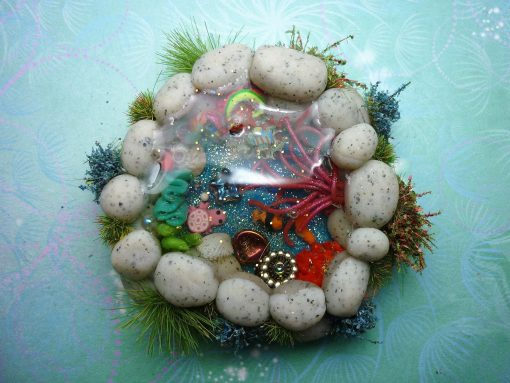 Reef / Rock Pool / Fish Pond Miniature perfect for Fairy Gardens