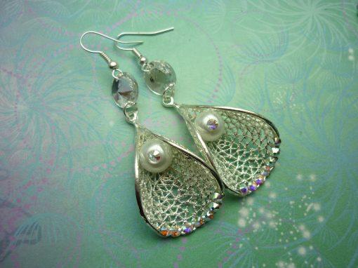 Sparkling Bridal Earrings - Crystal Earrings - Earrings - Gift for Her - Wedding