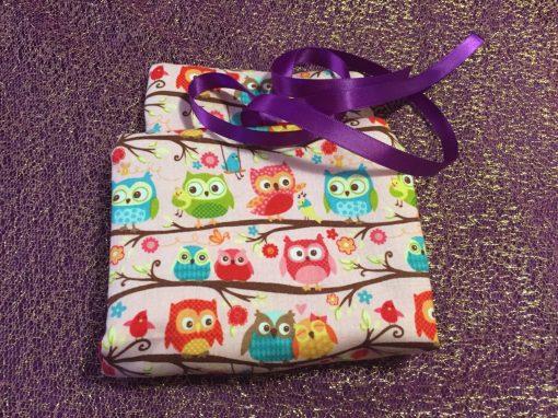 Tarot Card and Oracle Card Wrap Clutch Bag - Padded - Keepsafe - Little Owls