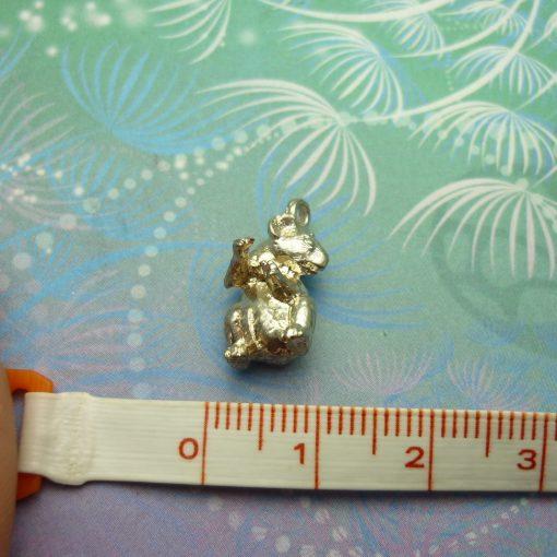 Vintage Sterling Silver Charm - Koala 3D