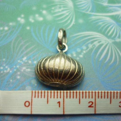 Vintage Sterling Silver Charm - Lantern Bulb