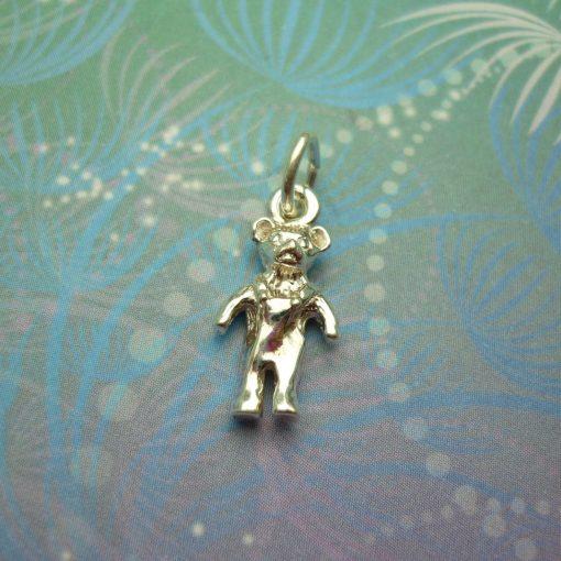 Vintage Sterling Silver Charm - Teddy Bear