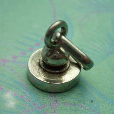 Vintage Sterling Silver Dangle Charm - Paper Weight