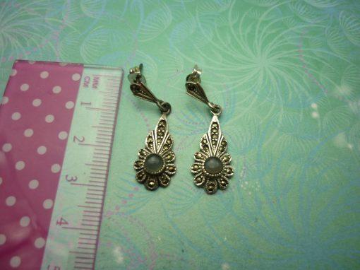 Vintage Sterling Silver Earrings - Classic