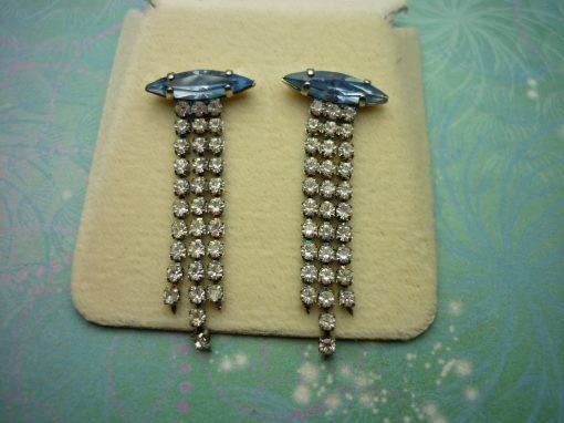 Vintage Sterling Silver Earrings - Stylish