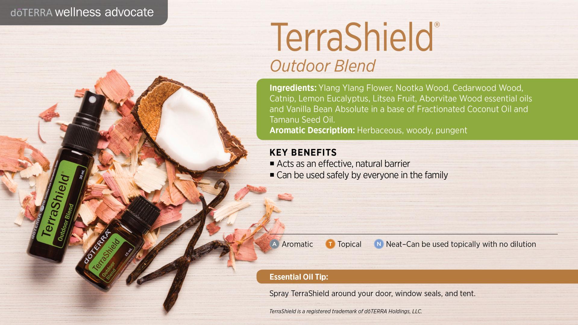 Terra Armour Terrashield Essential Oil 15 Ml Doterra