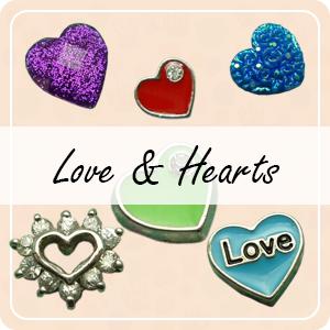 Love & Heart Charms
